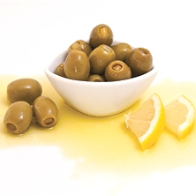Oliven grün gefüllt mit Zitrone 10kg