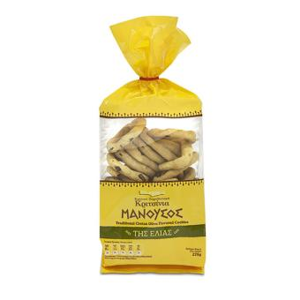 Manoussos - Olive Cookies 270g